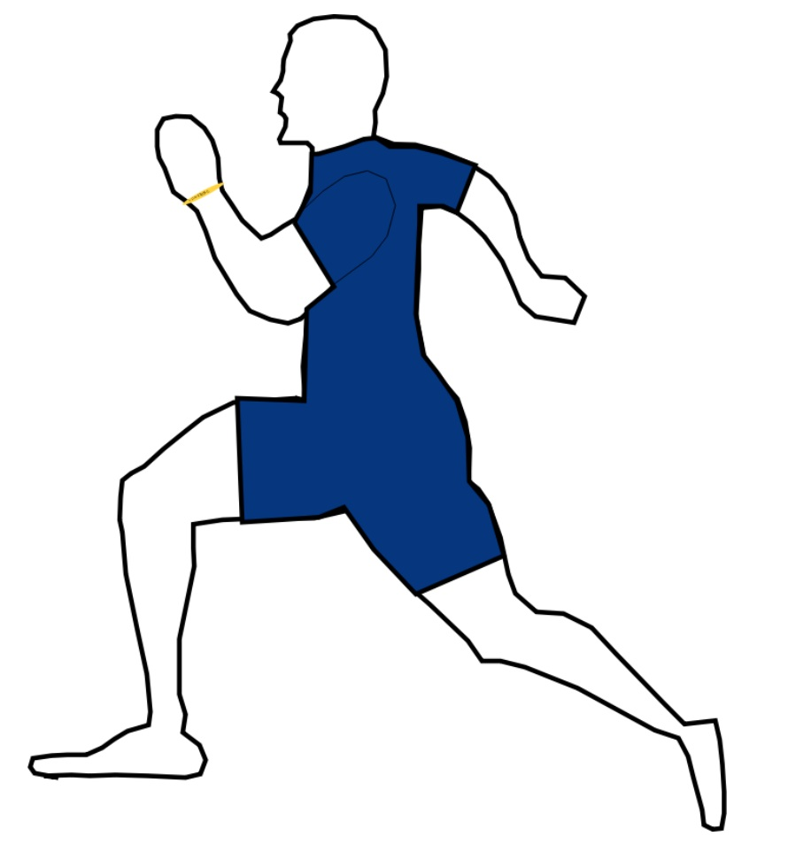 Graphic of a Runner