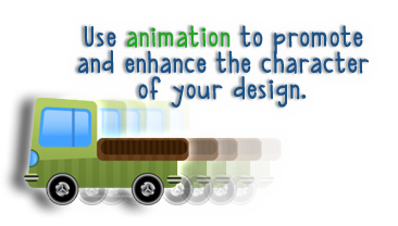 """Advanced Web Design - Motivation Through Animation"" icon"